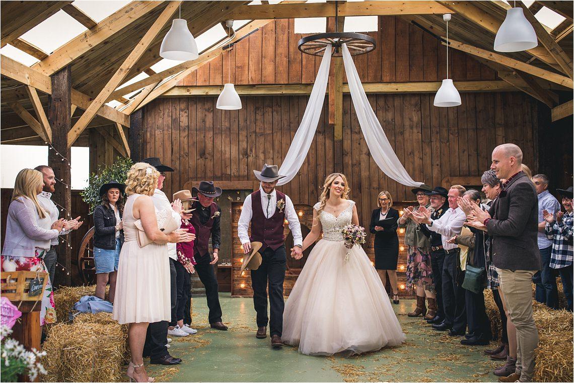 Stanton Hall and Gardens wedding barn