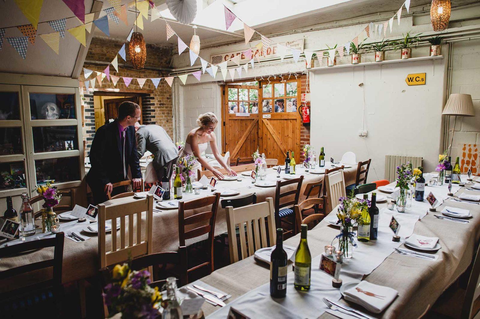 Unusual wedding venue Hackney City Farm