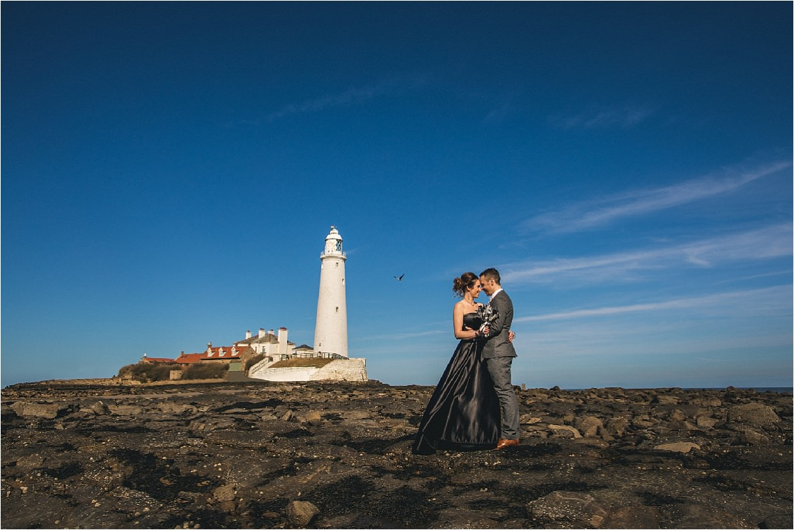 St Mary's Lighthouse Whitley Bay unusual wedding venue