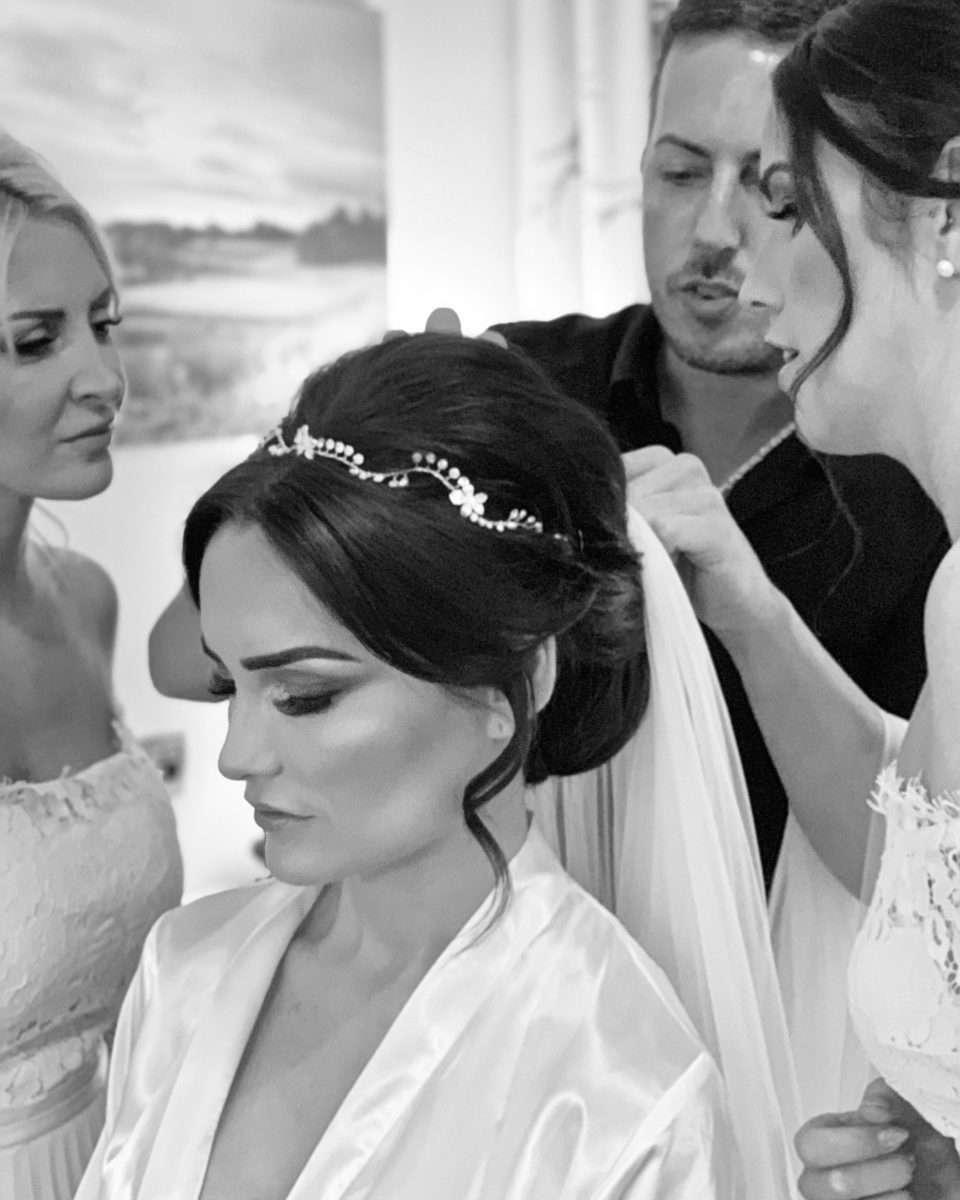 Bridal Hair by Nathan Pithers