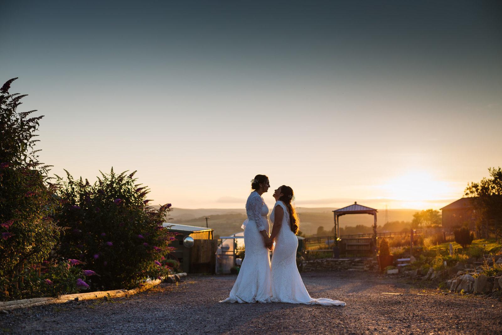 Sustainable Barn Wedding in Lancashire – Kayleigh & Ashleigh