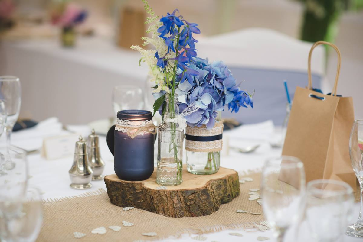 Wedding table centrepiece sustainable