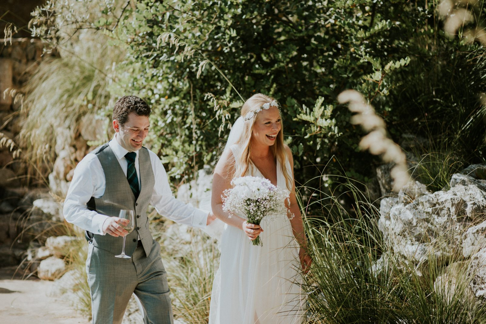 Rustic DIY Wedding on Mallorca – Roben and Craig