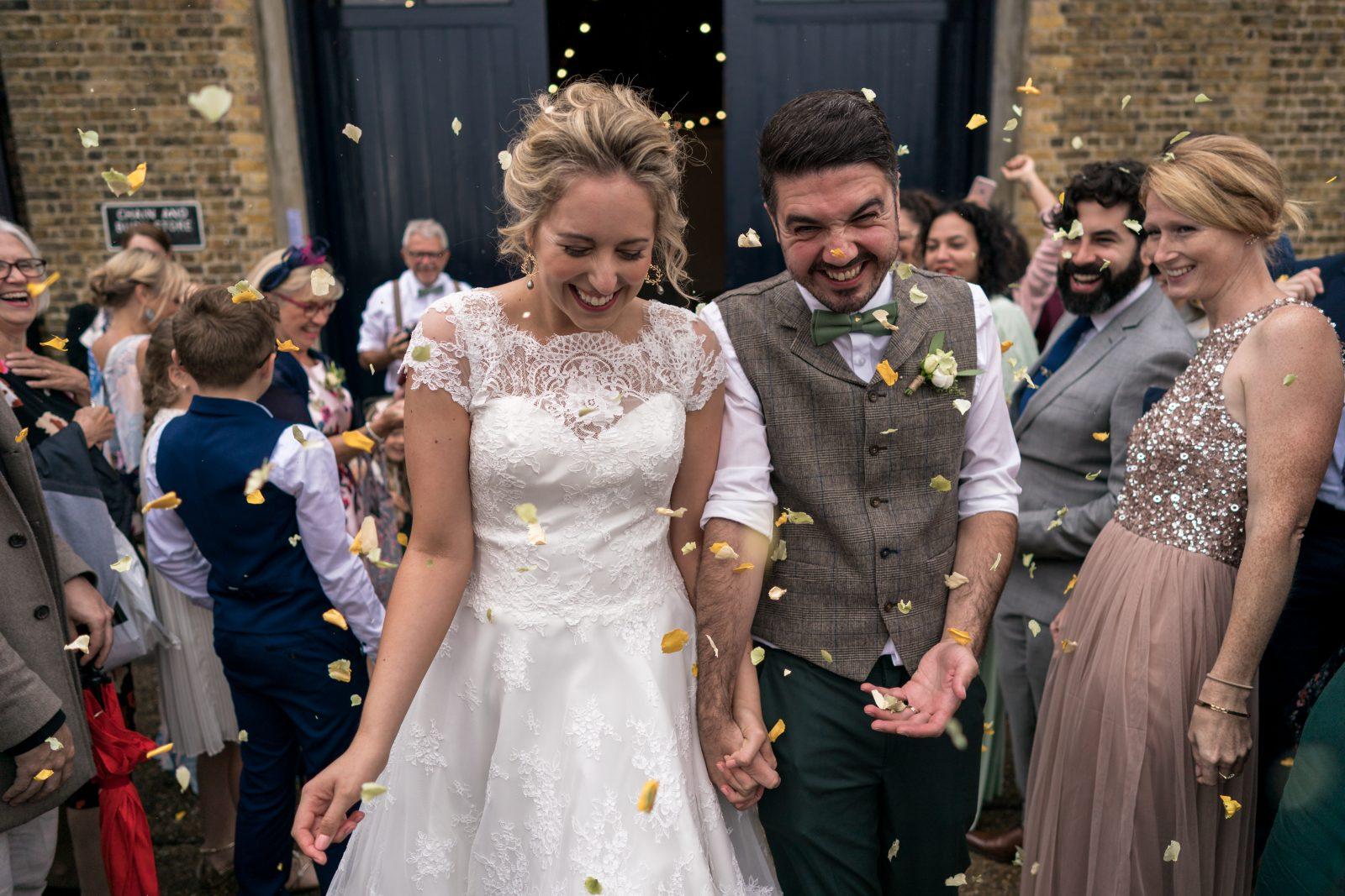 Quirky London Lighthouse Wedding – Kyrie & Ashley