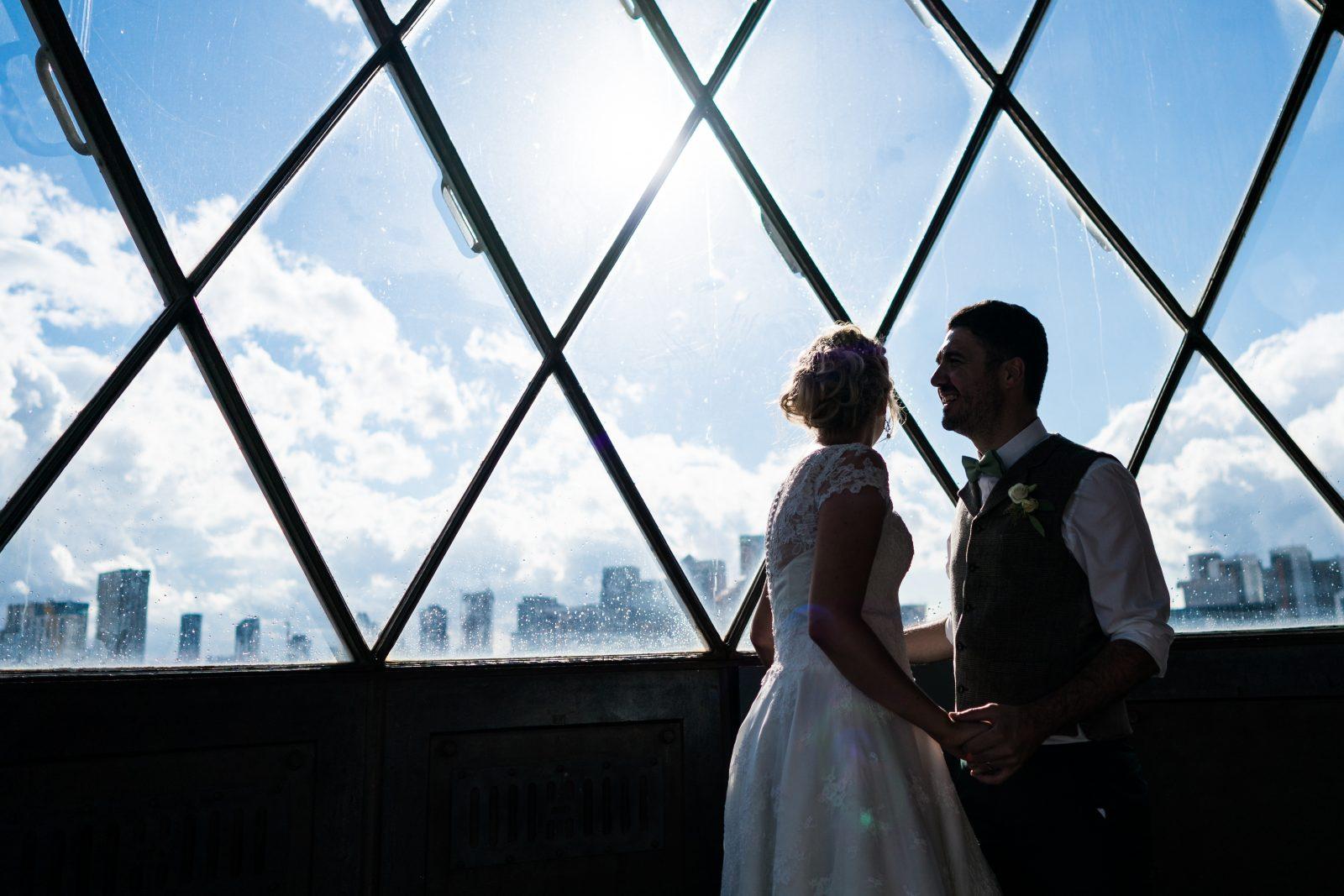 unusual london wedding