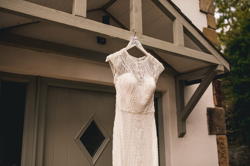 Rosa Clara Louise off white beaded boho wedding dress