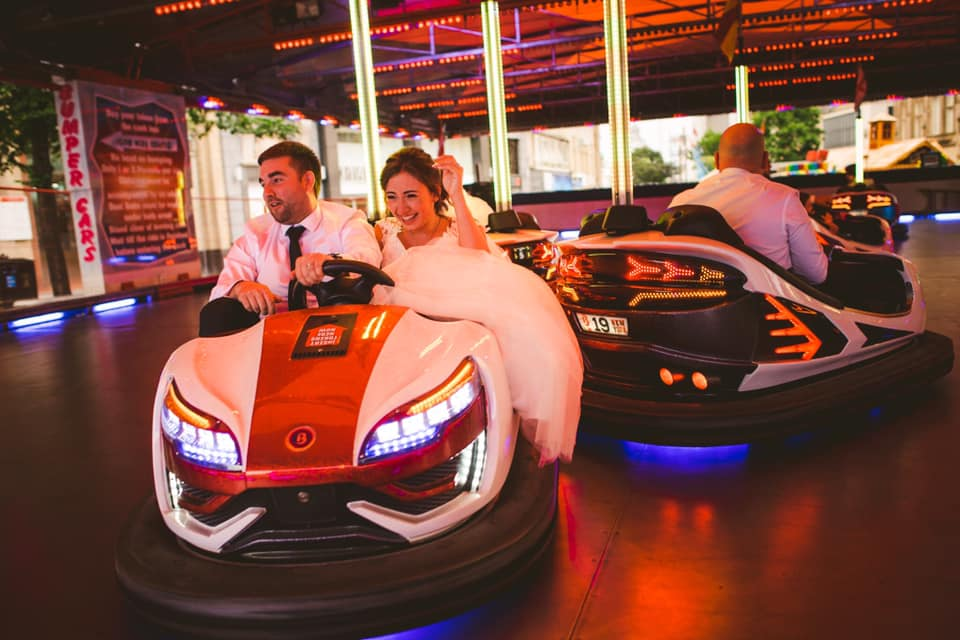 wedding entertainment ideas - bumper cars