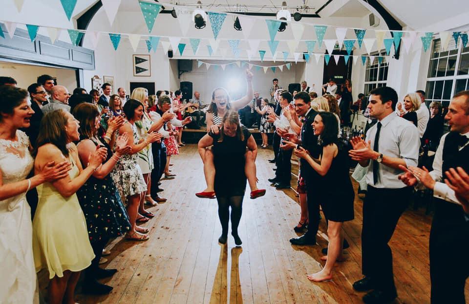 wedding ceilidh fun