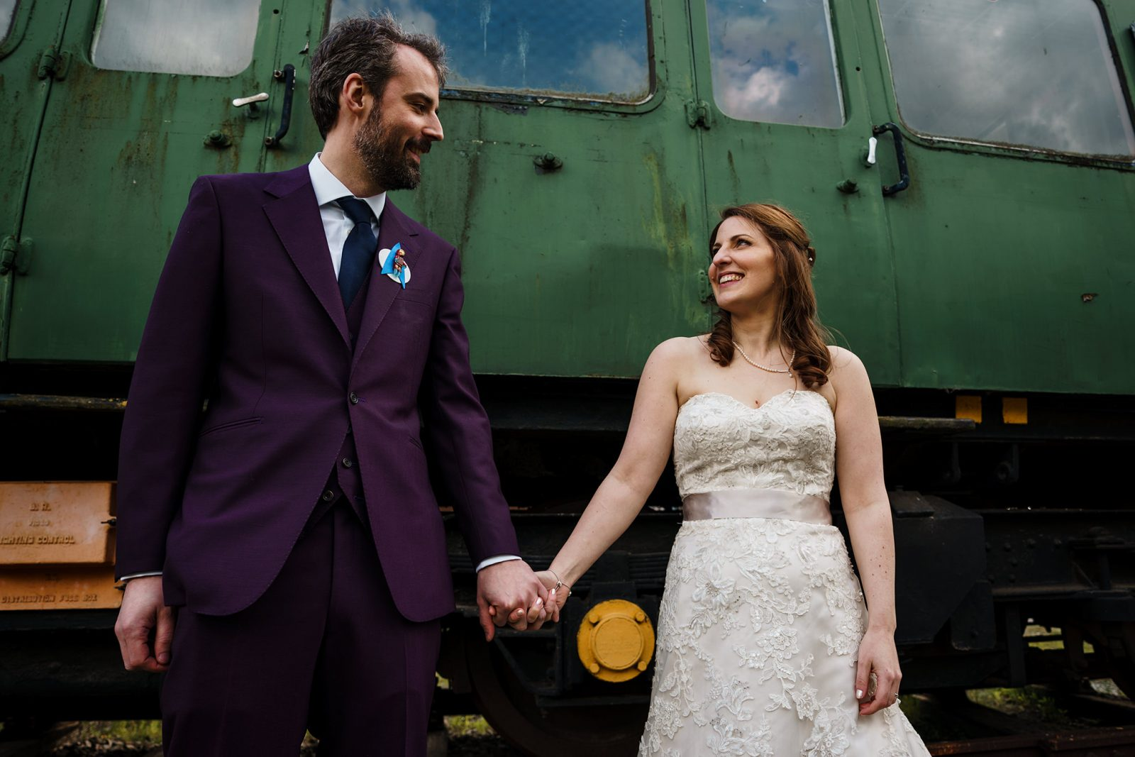 bride-groom-bucks-railway-centre
