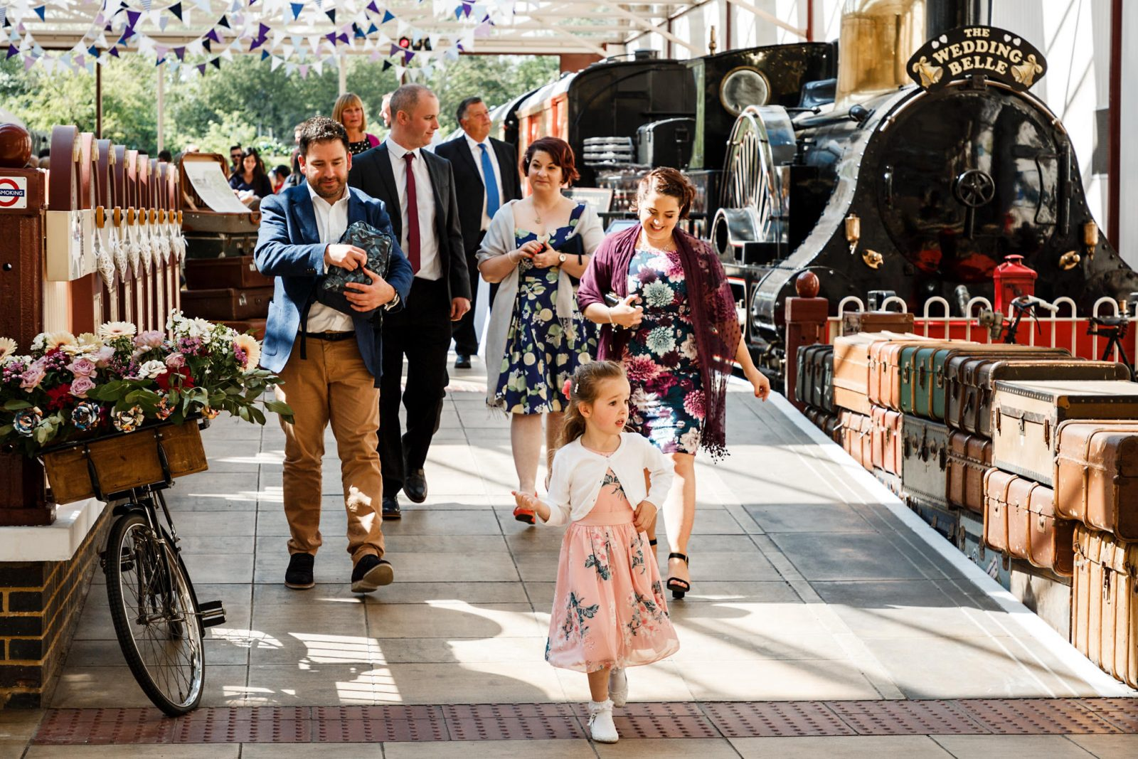 Train-theme-wedding