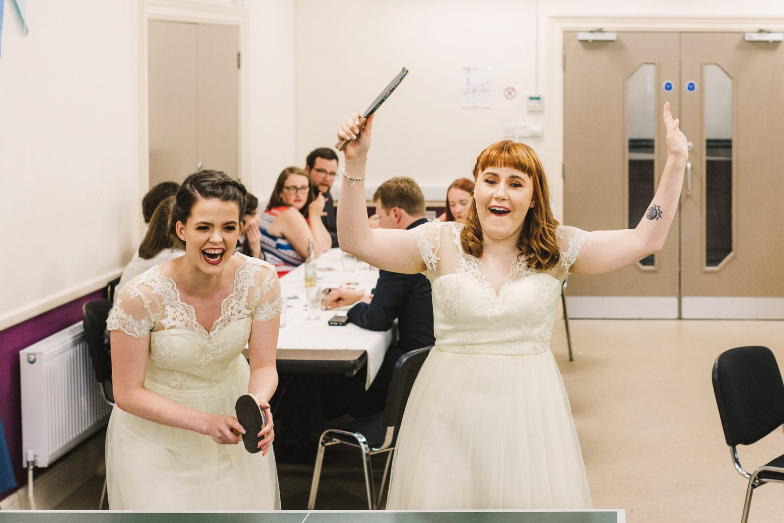 wedding entertainment ideas - table tennis