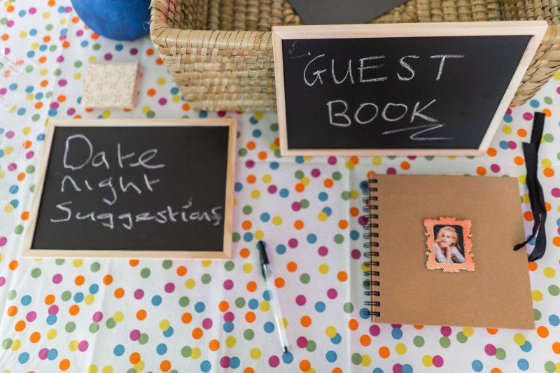 budget wedding ideas-guest book