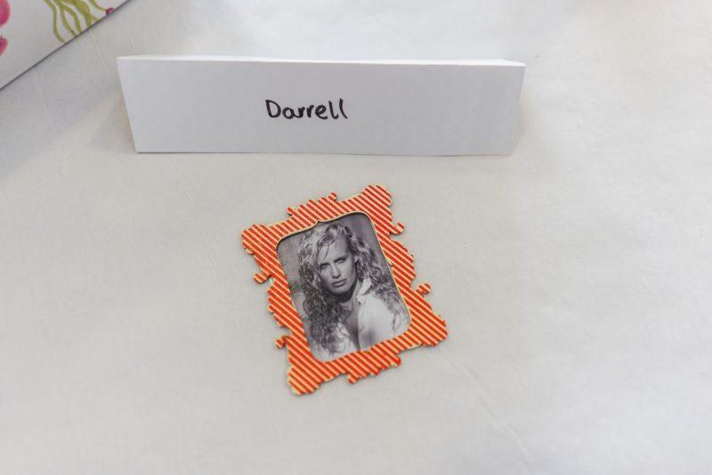 Daryl Hannah in frame