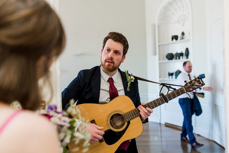 Guitar music wedding ceremony