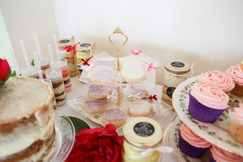 Biscuits dessert table