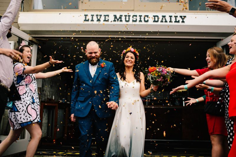 Brighton Music Hall wedding