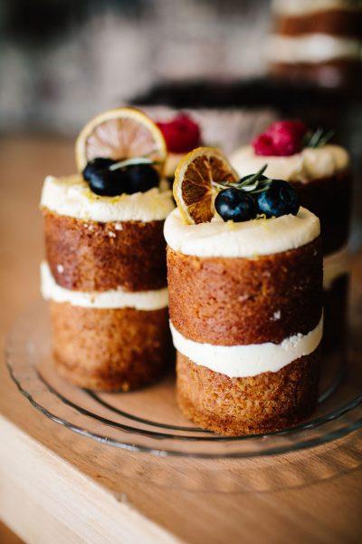 vegan lemon wedding cakes Southsea