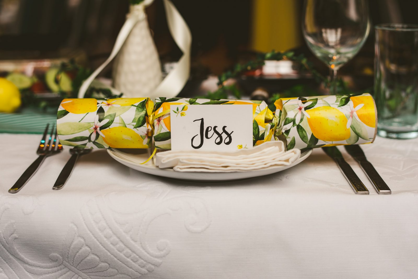 Wedding place name wedding favour ideas