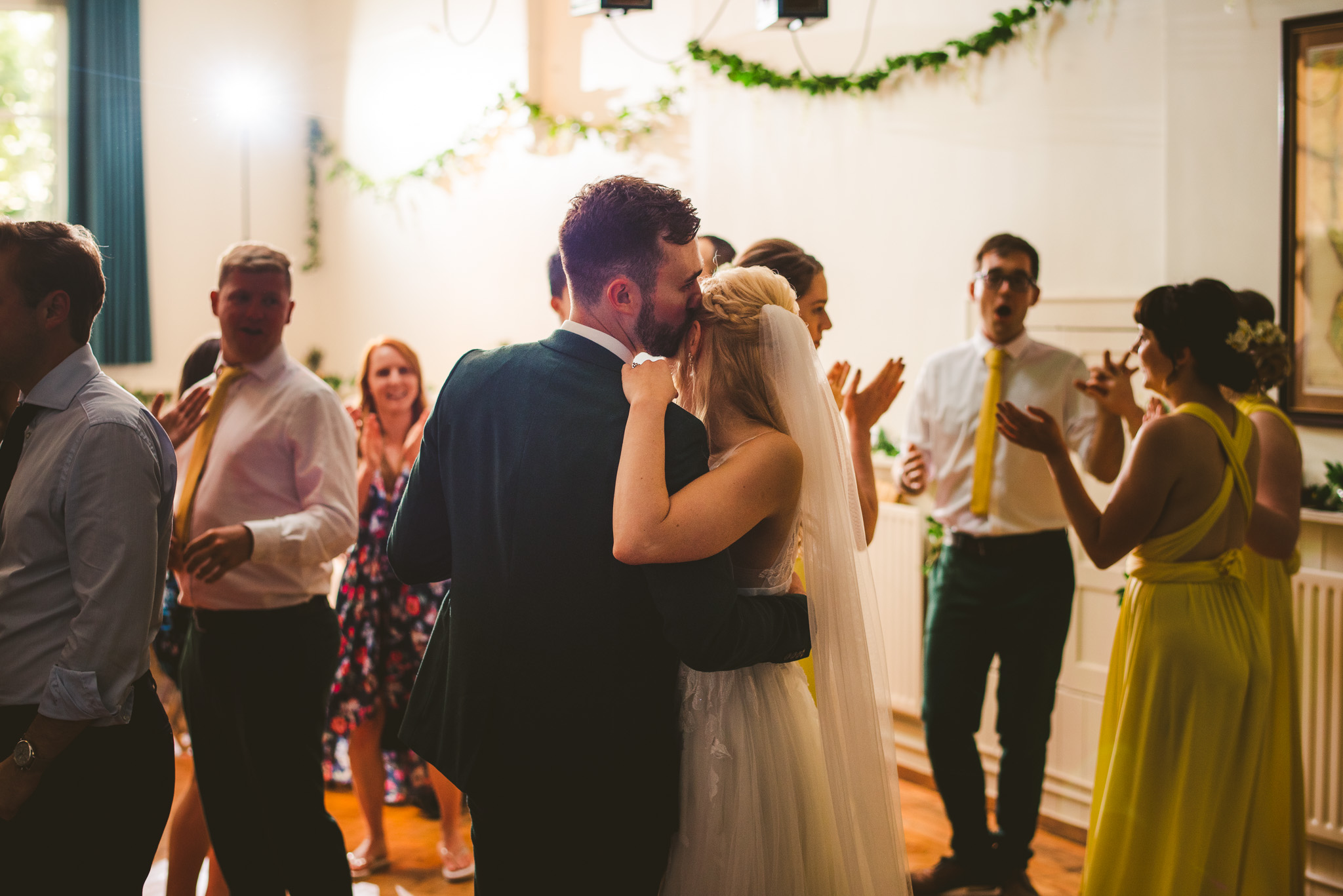 First dance DIY Village Hall Wedding