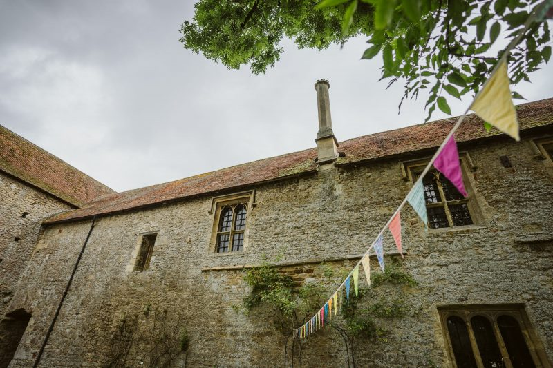 Abbingdon Abbey DIY bunting
