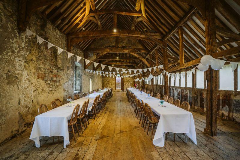 Abbingdon Abbey DIY wedding