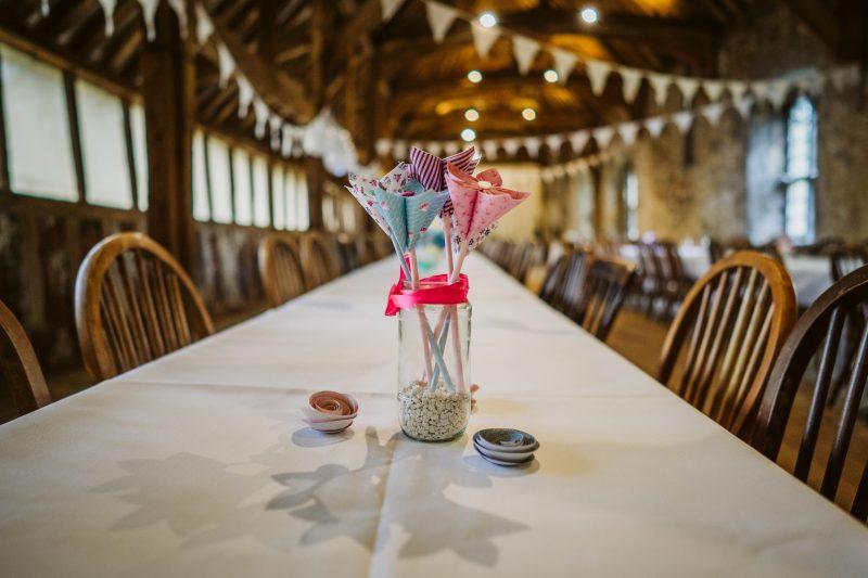 paper flowers DIY wedding