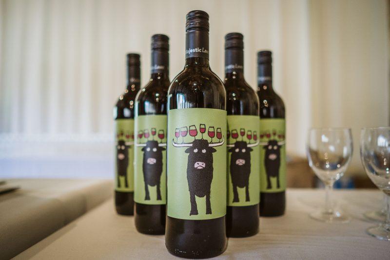 red wine wedding