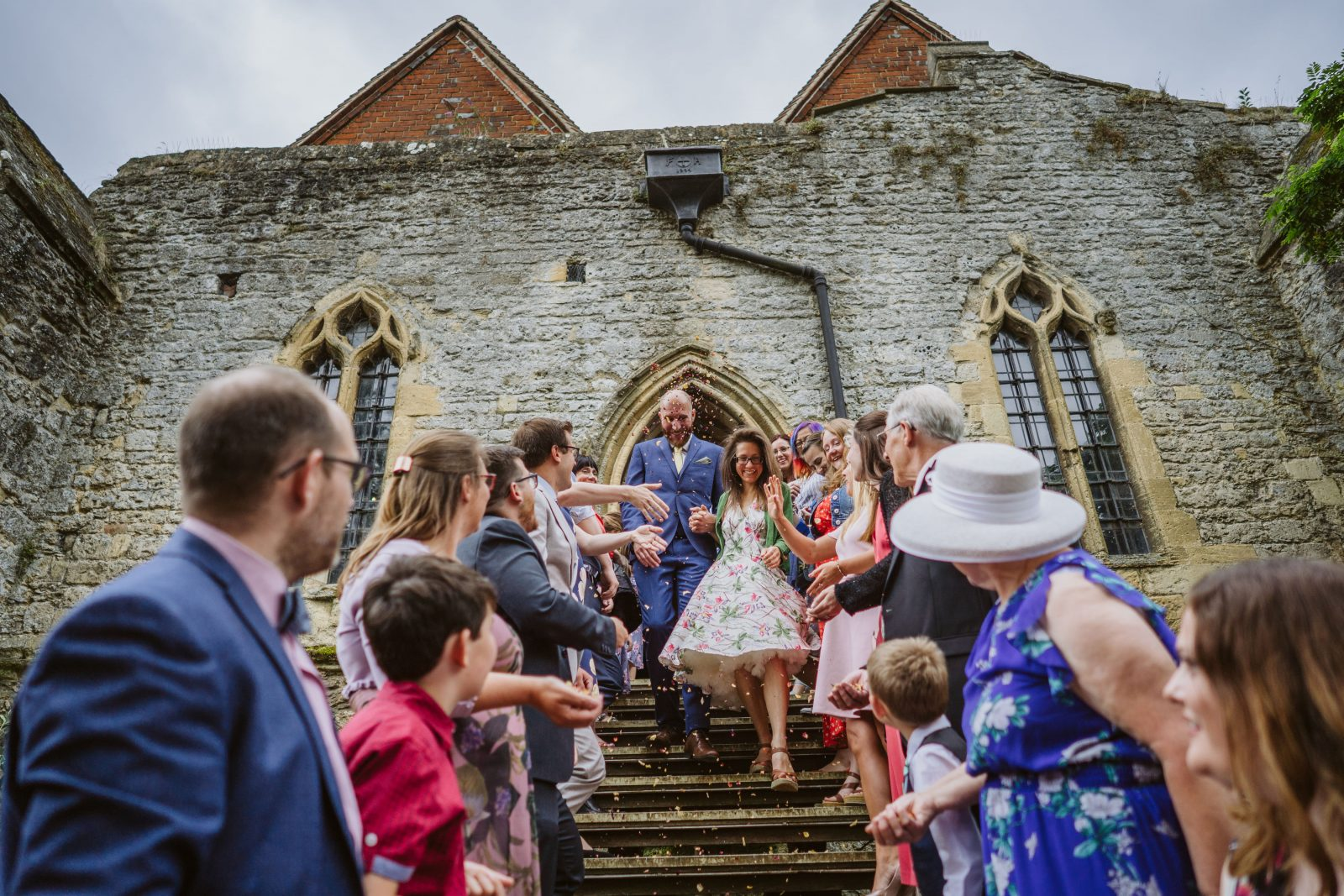 Rule-breaking Abingdon Abbey DIY Wedding