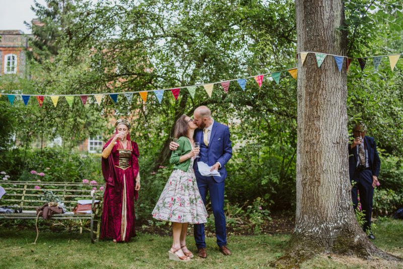 bride groom outdoor