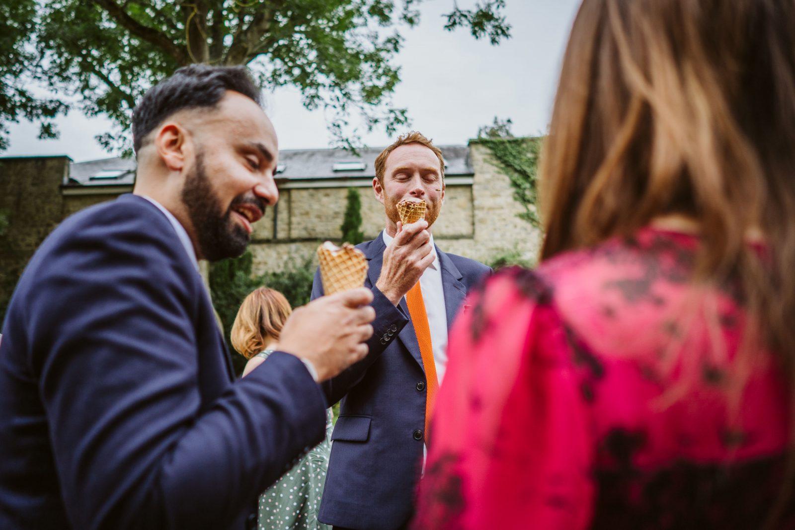 wedding icecream