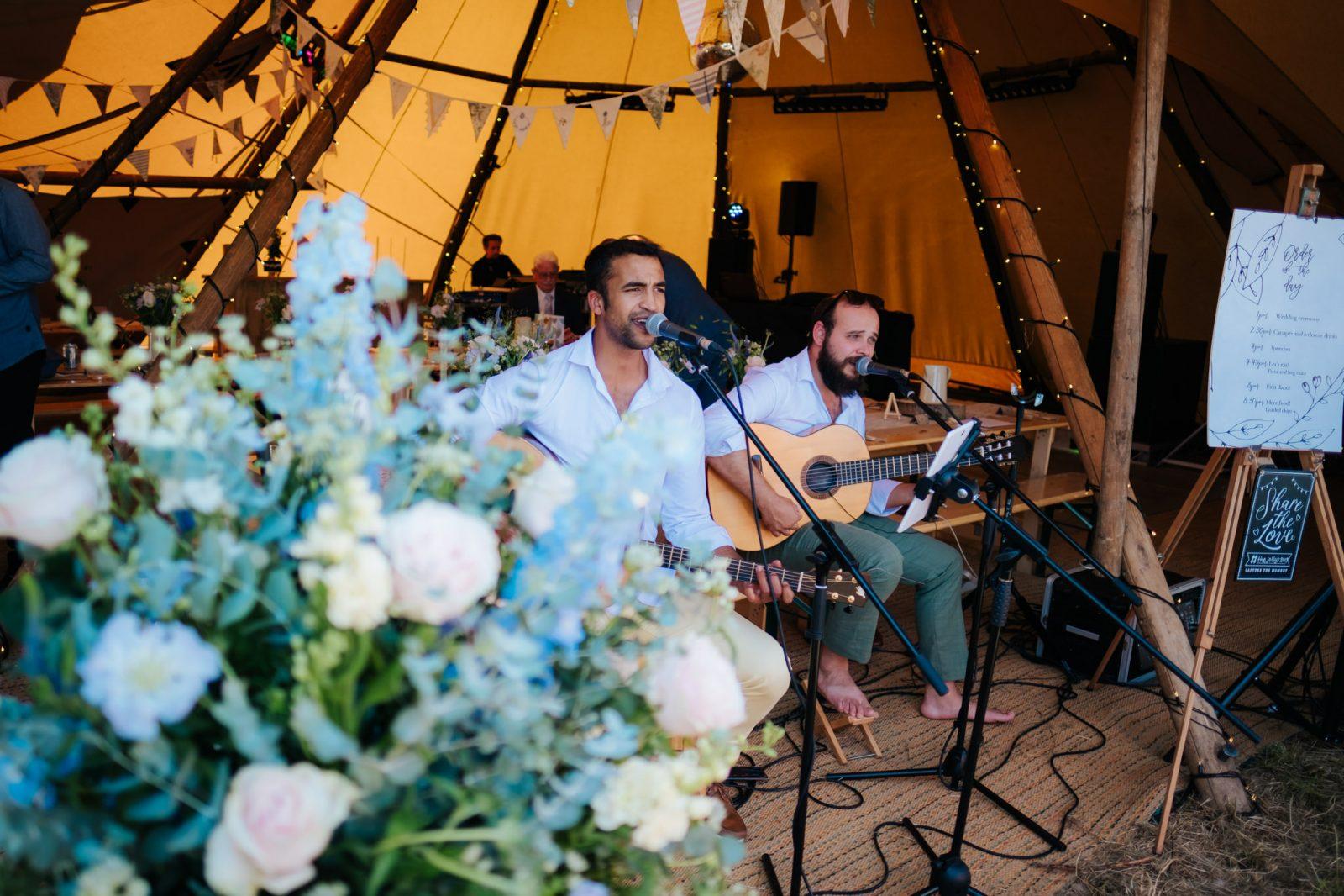 acoustic wedding band shropshire