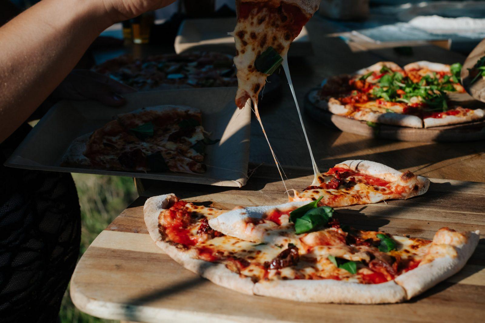 pizza van wedding shropshire