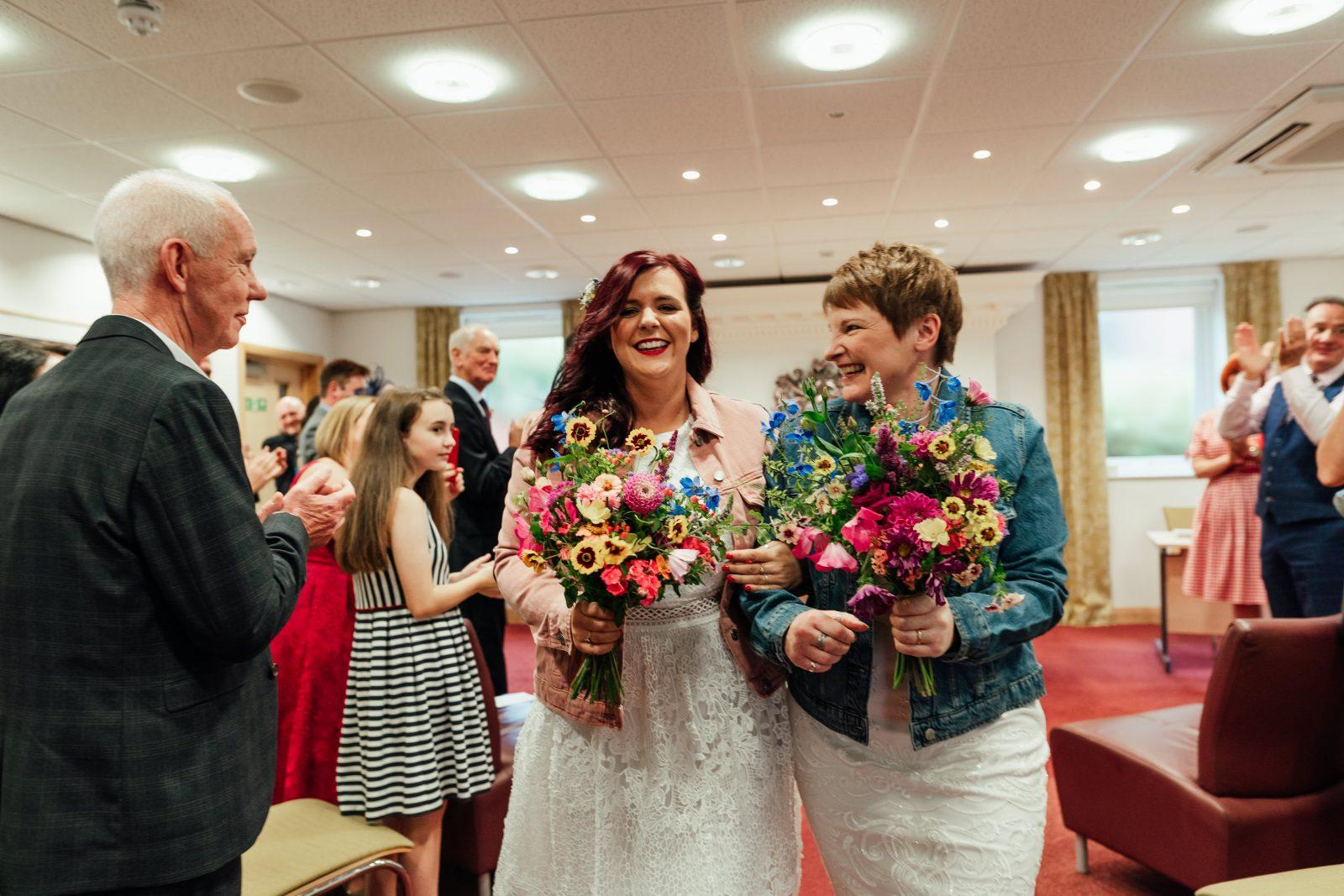 brides keeping it real