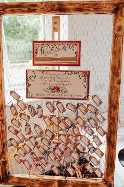 wedding table plan board choose own seat