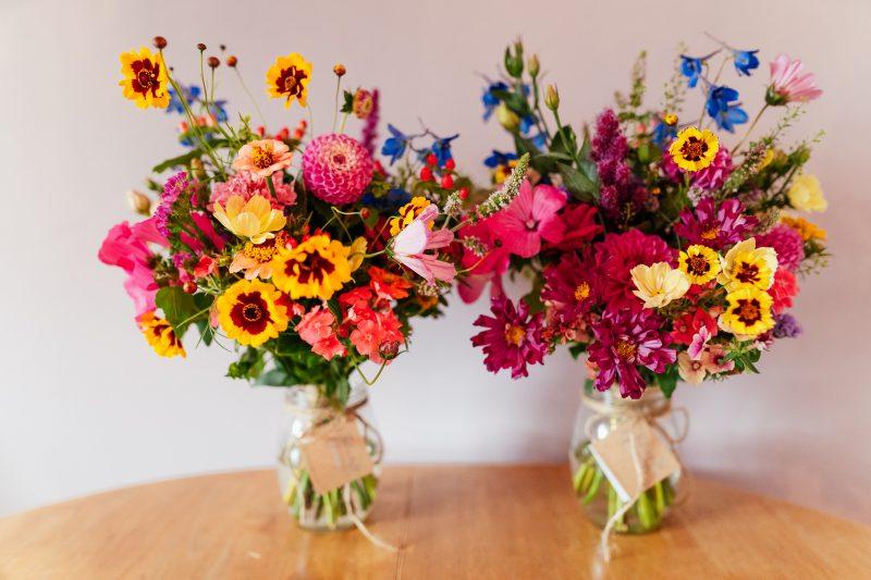 wildflower bouquets wedding