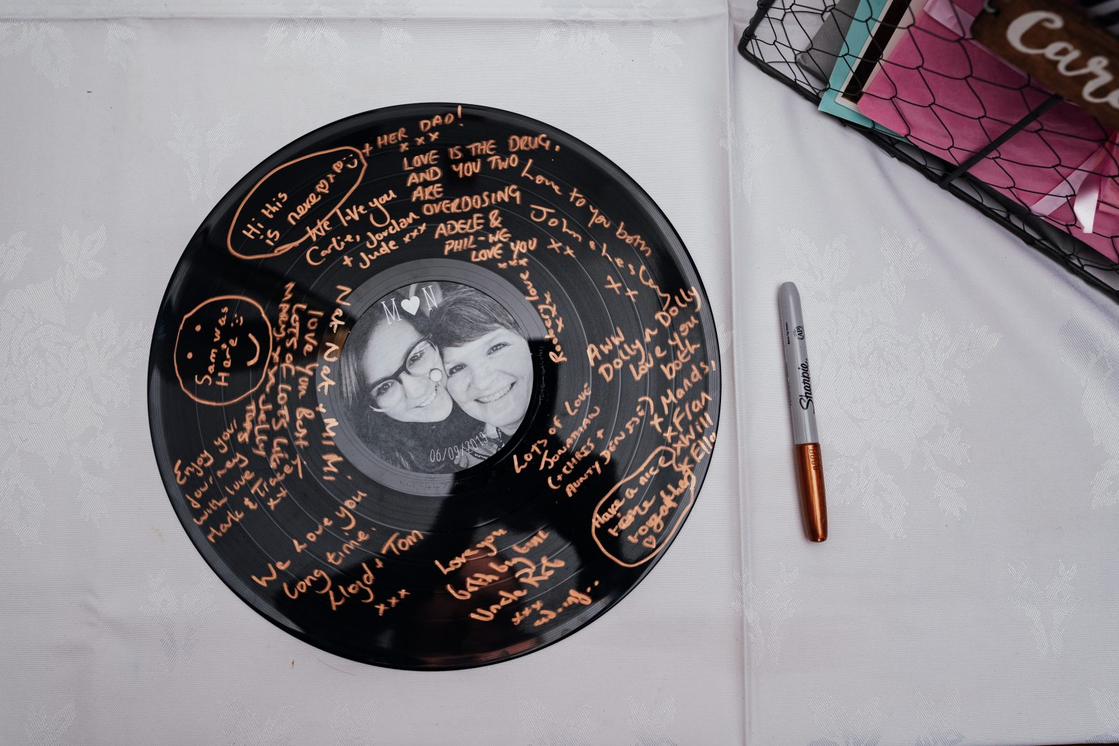 wedding record guest book