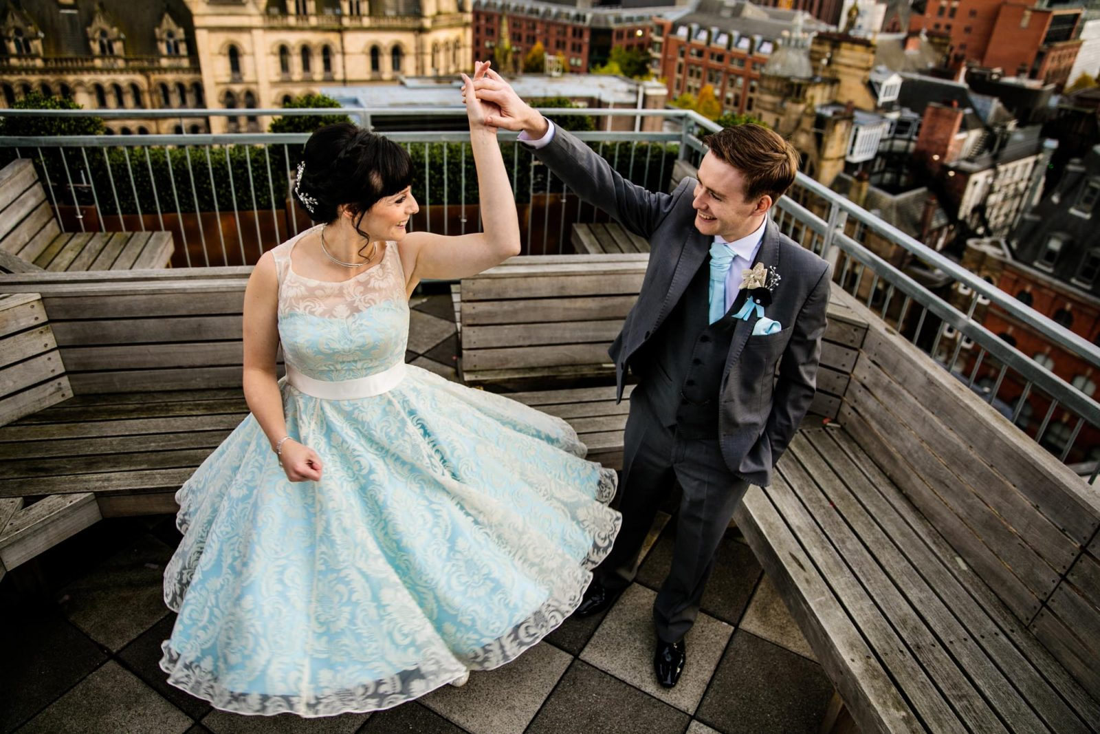 Manchester Chetham's Library wedding with a Harry Potter Theme