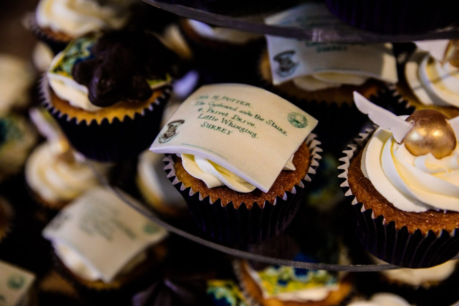 Harry Potter cupcakes wedding