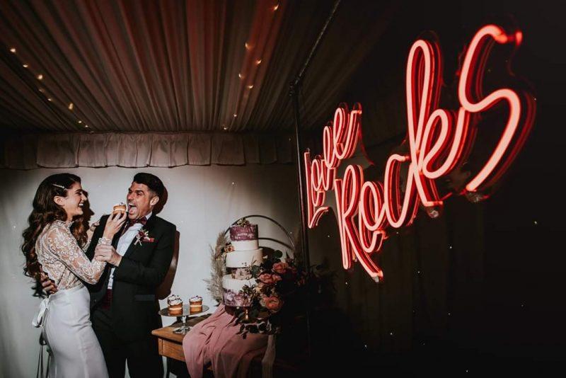 neon wedding sign Daniel Ackerley-Holmes