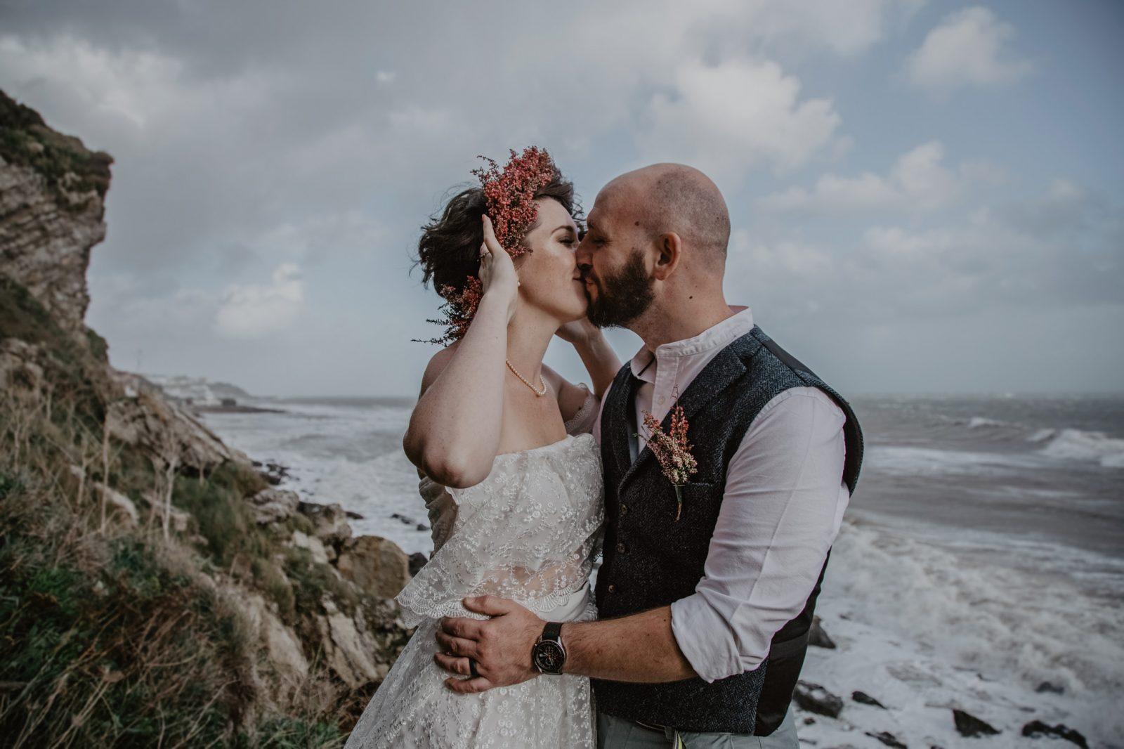 Holly Cade Photography homemade wedding dress