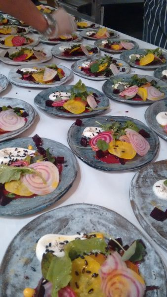 wedding food london