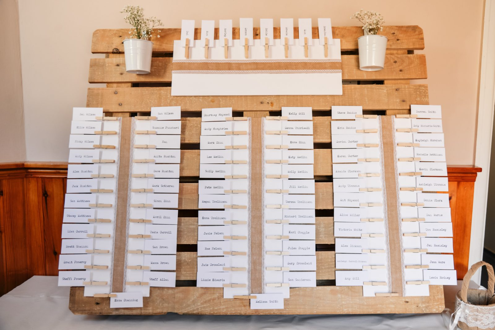 DIY table plan wooden crate