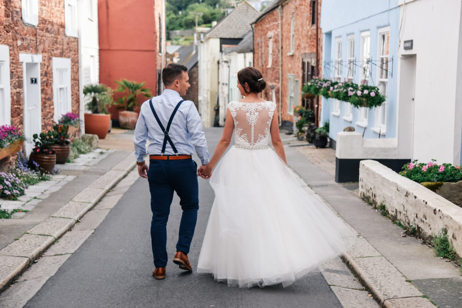 Cornish Village Hall DIY Wedding