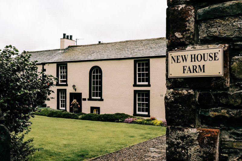 New House Farm Lake District wedding venue