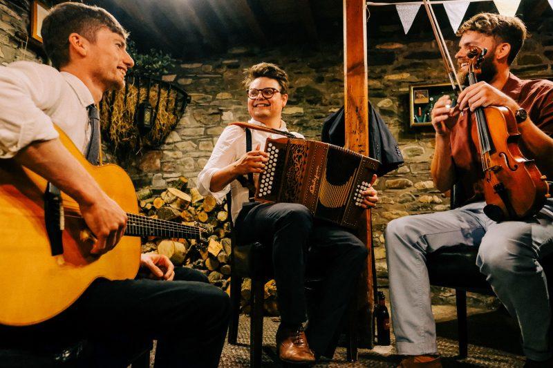 Alias Trio folk band Lake District wedding