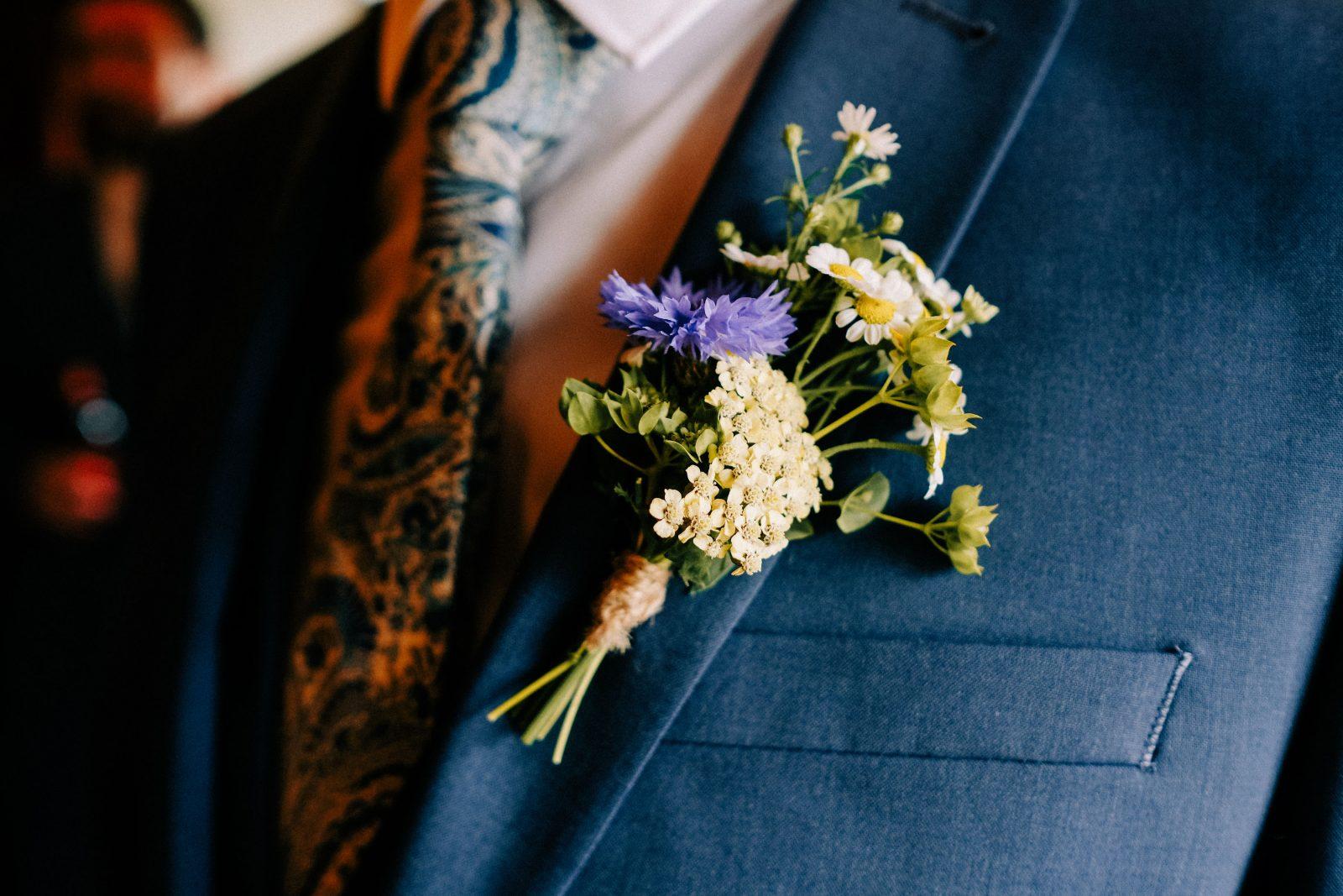 Wildflower buttonhole