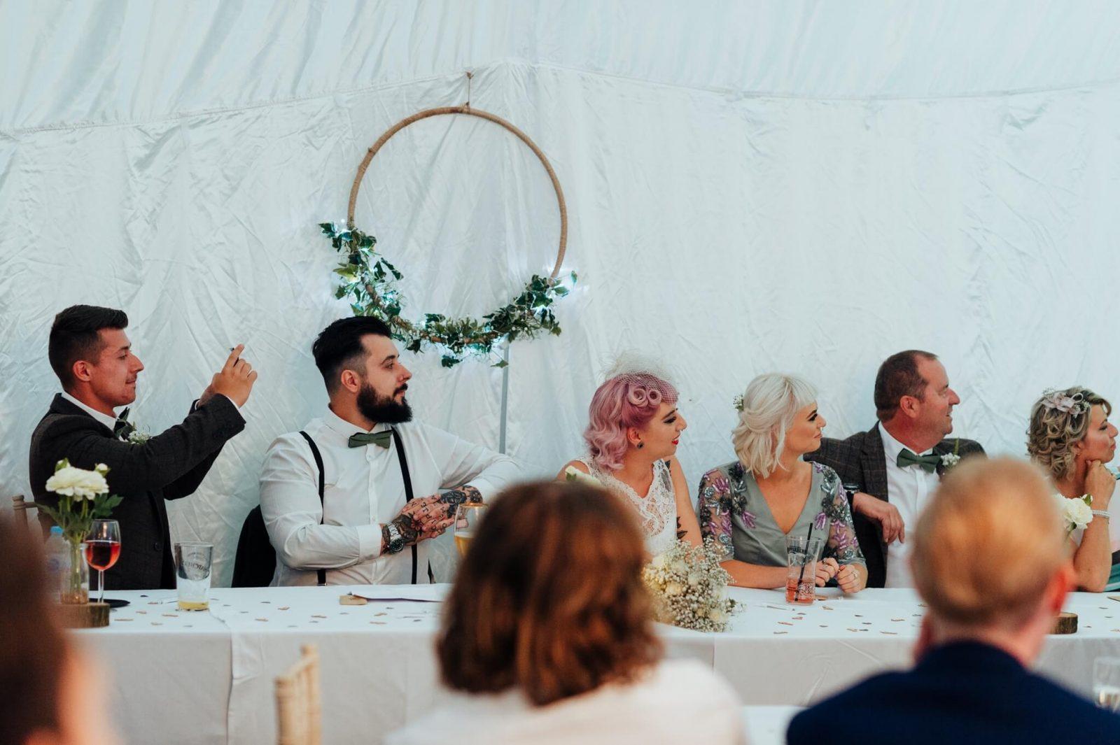 floral hoop DIY wedding