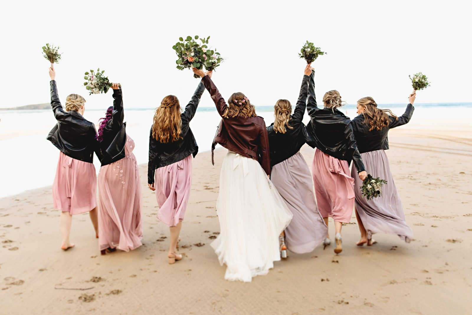 Newquay Beach DIY Wedding – Lusty Glaze Cornwall